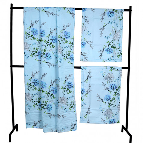 Bed Sheets-Blue